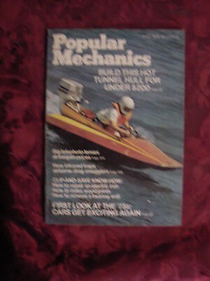 (POPULAR MECHANICS magazine AUGUST 1974 Tunnel Hull Boat Renault 12 Buick Riviera)