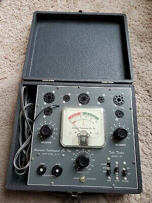 Accurate Instrument Co Tube Tester Model 151 With Instruction Manual