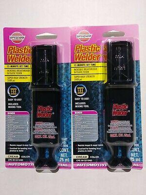 2 Versachem 3500 Psi Plastic Welder Bonds 25ml Epoxies Glues 47809
