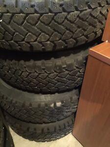 Dodge Dakota 235 75 15 Winter Tires and rims