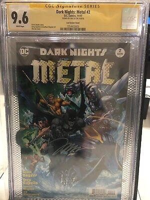Usado, DC Dark Knight Metal # 2 Jim Lee Signature Series CGC 9.6 segunda mano  Embacar hacia Argentina