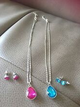 Jewellery sets incl. earrings&necklace with pendant $20 for BOTH sets Bondi Junction Eastern Suburbs Preview