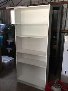 White bookshelf Page Belconnen Area Preview