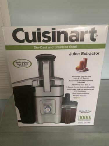 Cuisinart CJE Juice Extractor 1000 Electric Squeezer Fruit V