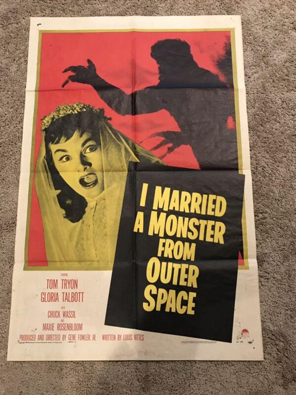 I Married A Monster From Outer Space (USA, 1958) One Sheet Movie Poster