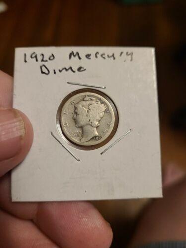1920 Mercury Dime - $4.00