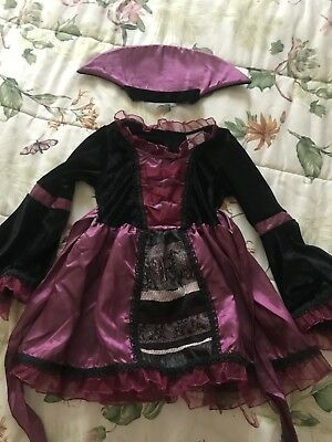 Pre-owned Sassy Vampire Child Costume Size M(8-10) For 5year Olds](Girl Vampire Costume For Kids)