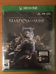 Middle Earth - Shadow of War (for XBox One)