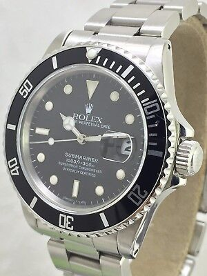 Rolex Submariner 16800 1987-Transitional, all Original RARE VINTAGE