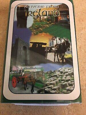Irish Souvenir Playing Cards-Sealed In Box