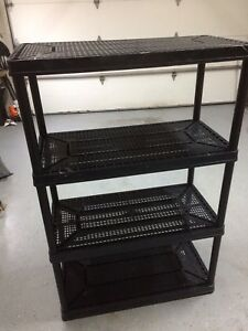 Large plastic shelf