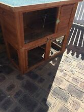 Guinea pig double storage hatch +glass water bottle and play pen Highgate Perth City Preview