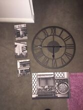 Large clock and artwork North Strathfield Canada Bay Area Preview