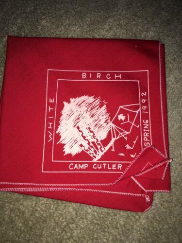 Boy Scout BSA Camp Cutler Lake Huron Area District Michigan Council Neckerchief
