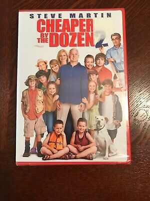 Cheaper by the Dozen 2 DVD, Bonnie Hunt, Steve Martin - Brand New, (Bonnie Hunt Cheaper By The Dozen 2)
