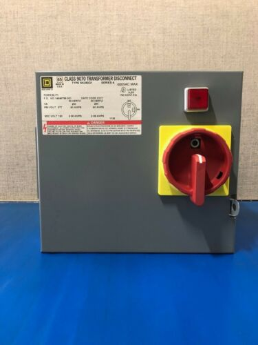 Square D Class 9070 Transformer Disconnect SK250G1