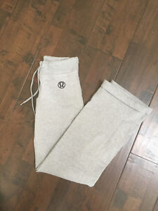 Women's Lululemon grey track pants