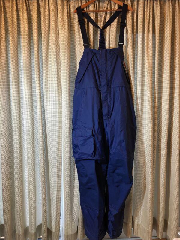Explorer Offshore Foul Weather Protective Gear West Marine, Blue BIB Pants (NWT)