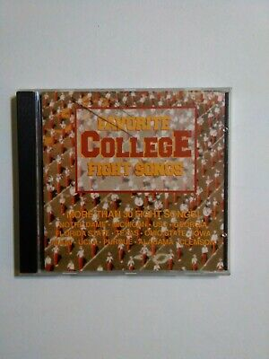 Favorite College Fight Songs CD