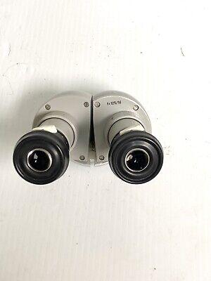 Carl Zeiss F12516 Opmi Binocular Head With Eyepieces.  12860