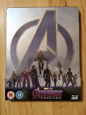 **New** Avengers: Endgame - Blu-ray Steelbook - 3D & 2D - Zavvi Exclusive