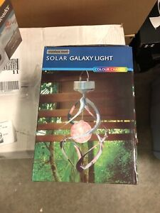 Solar galaxy light stainless steel. New in box