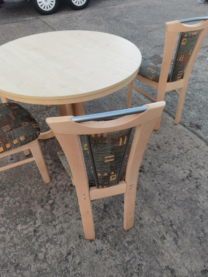 Runder Ess Küchen Tisch zum Ausziehen in Neubrandenburg
