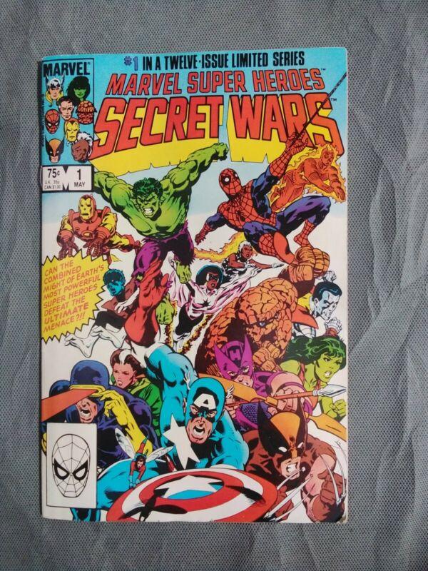 Marvel Super-Heroes Secret Wars #1 (May 1984, Marvel)