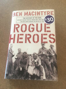 Rogue Heroes Book mint condition