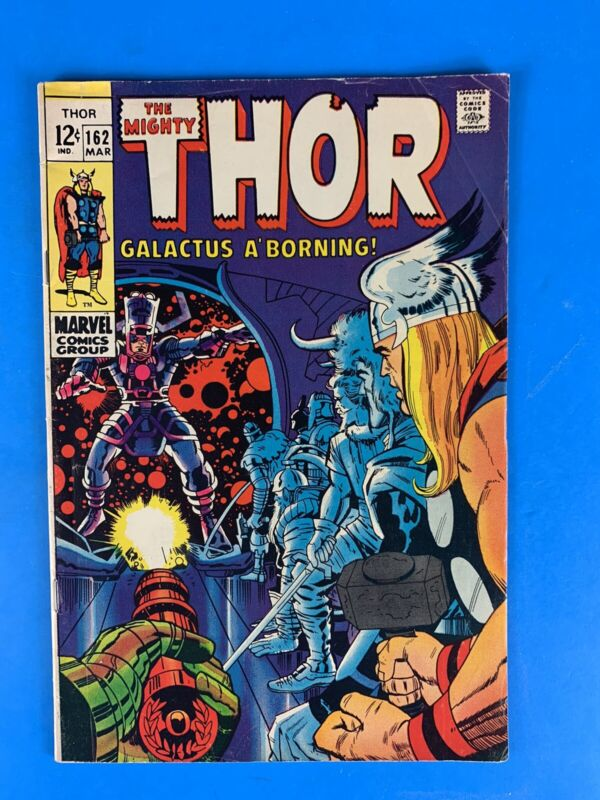 Thor #162 (Origin of Galactus)🔑🔥