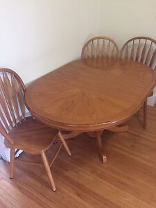 Table and chairs (3)