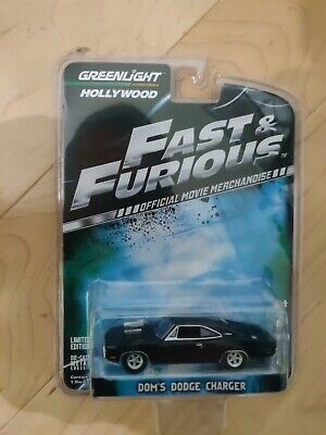 Green Light 1/64 Fast & Furious Dodge Charger