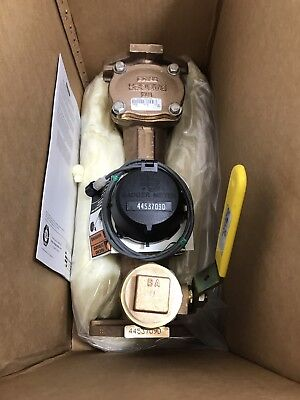 Badger 2 T-200 Turbo Water Meter Ll-ns Nsf61-g Test Plug And Ade Strainer New
