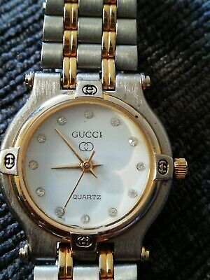 Vintage Gucci Two tone Quartz Watch