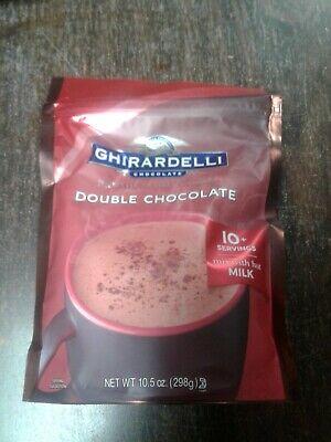 1--Ghirardelli Double Chocolate Premium Hot Cocoa Mix Mix Double Chocolate