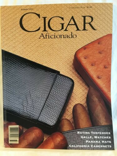 Cigar Aficianado Magazine Summer 1993