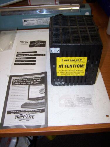 👀 NEW TRIPP LITE LINE CONDITIONER 6 OUTLET 120 VOLT 2400 WATT 20 AMP LC2400