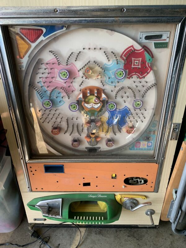 vintage 1970s Japanese Pachinko machine
