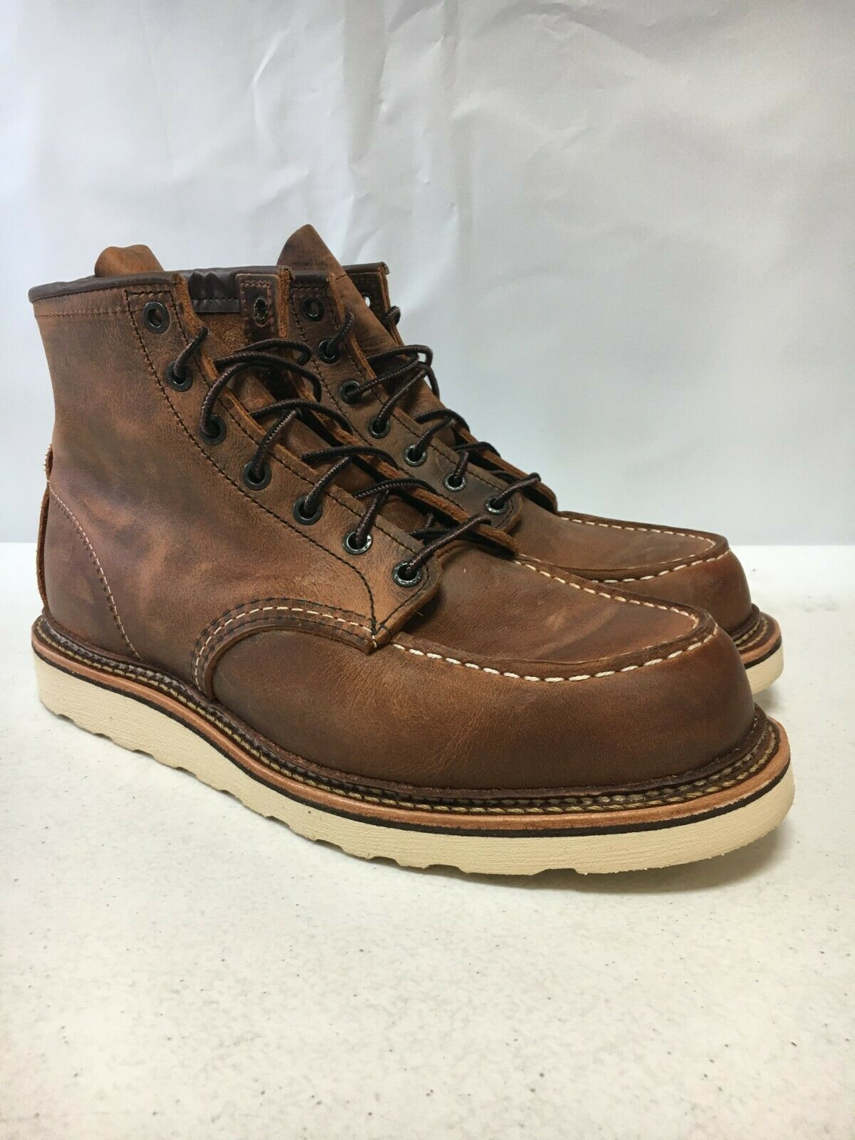 Men's Red Wing 1907 Classic Moc Waterproof Boot, Size 7 D -
