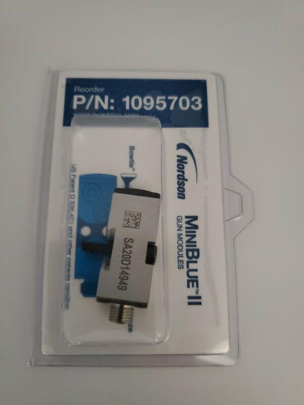 Nordson Mini blue II module 1095703 Brand new hot glue module