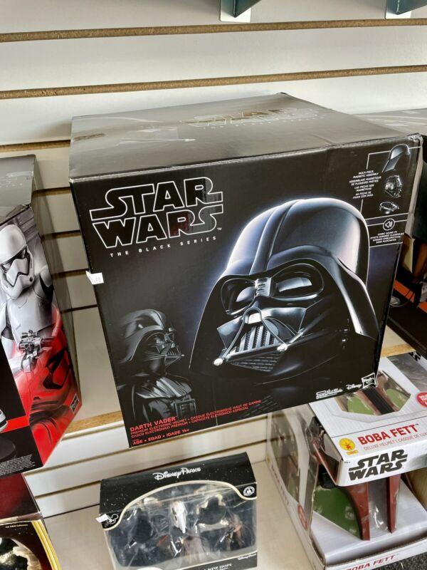 Star Wars Black Series Darth Vader Electronic Helmet Hasbro New IN Stock