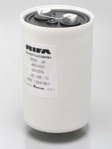 RIFA PEH200YU433BMB4 450VDC, 3300uF, 20% Capacitor