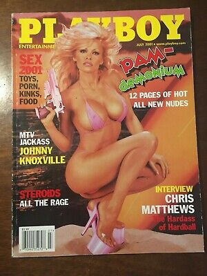 Playboy Magazine JULY 2001 PAM ANDERSON