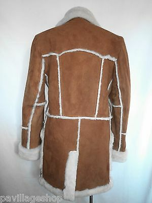 7d455c3825 Купить Men s Open Seam Marlboro Sheepskin Coat in Tan на eBay.com из ...