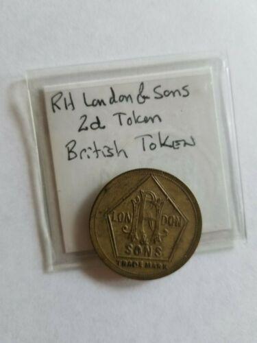 West Point Coins ~ British Token R.H. London & Sons 2d