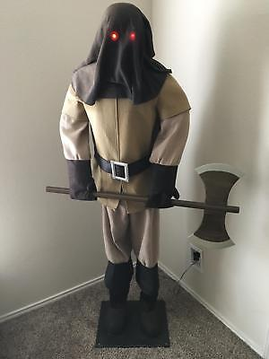 Gemmy Executioner Lifesize Rare Animated Spirit Halloween Prop