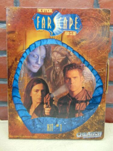The Official FARSCAPE FAN CLUB Kit #1 VHS/Letters+ SCIENCE FICTION SERIES