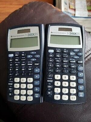 TEXAS Instruments Calculator T1-30X11S.  Lot of 2!   Both work very well!