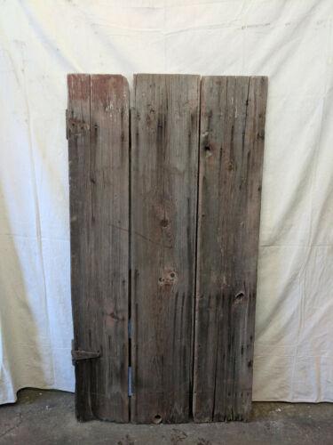 Reclaimed Wood Barn Door Sliding Barn Door Vintage Lumber Hinged