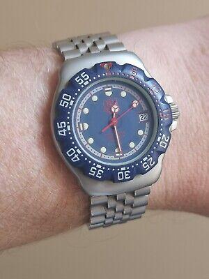 Vintage TAG Heuer Formula One Quartz Watch. 370.513. All Original boxes/papers!